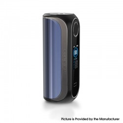 Authentic OBS Cube FP Fingerprint Unlock 80W VW Vape Box Mod - Blue, Zinc Alloy + 3D Curved Glass, 5~80W, 1 x 18650
