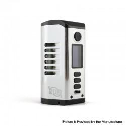 Authentic Dovpo Odin 200 200W TC VV VW Box Mod - Silver, Aluminum Alloy + Zinc Alloy, 5~200W, 200~600'F, 2 x 18650 / 20700/21700