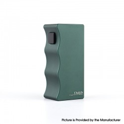 Authentic Dovpo X Signature Tips X Mike Vapes Clutch 21700 Mech Mechanical Vape Box Mod - Green, 1 x 21700