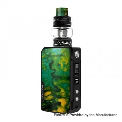 [Ships from HongKong] Authentic Voopoo Drag Mini 117W 4400mAh TC VW Mod + UForce T2 Tank Kit - B-Lime, 5~117W, 5ml, 28mm
