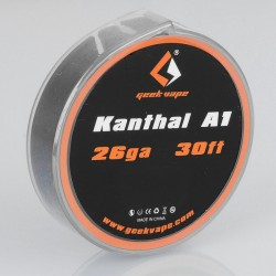 [Ships from HongKong] Authentic Geekvape Kanthal A1 Resistance Wire for RBA / RDA / RTA Atomizers - 26GA, 0.4mm x 10m (30 Feet)