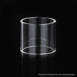 Authentic ThunderHead Creations THC Tauren Max RDTA Vape Atomizer Replacement Straight Tank Tube - Transparent, Glass, 4.5ml