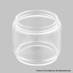 Authentic Hellvape Destiny RTA Tank Vape Atomizer Replacement Bubble Tank Tube - Transparent, Glass, 4ml