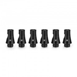 Authentic KIZOKU Chess Series Replacement 510 Drip Tip for RDA / RTA/RDTA/Sub-Ohm Tank Atomizer - Black, Knight, 24.19mm (6 PCS)