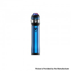 Authentic Advken OWL Vape Mechanical Mod + Tank Starter Kit - Blue, 3ml, 0.16ohm / 0.2ohm, 1 x 18650 / 20700 / 21700