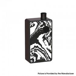 Authentic Advken Artha 80W VW Box Mod Pod System Vape Starter Kit - Ink Black, 5~80W, 4.5ml, 0.3ohm / 0.8ohm, 1 x 18650