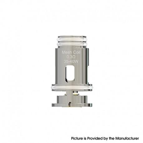 Authentic Oumier Voocean 40 Pod System Vape Kit / Cartridge Replacement Coil Head - Silver, 0.3ohm (35~40W) (5 PCS)