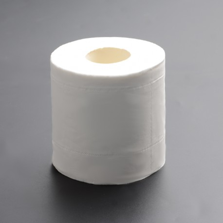 3-Layer Soft Toilet Paper Tissue Bathroom Living Room Decor Toilet Tissue - 128g (1 Roll)