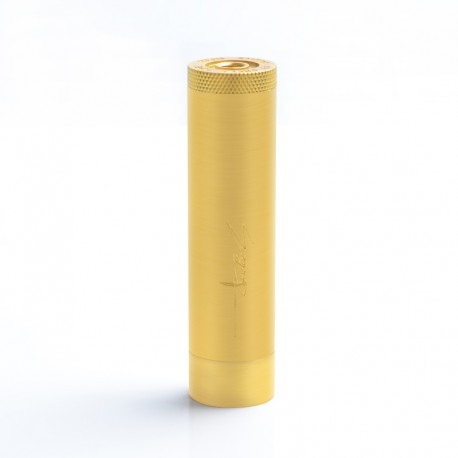Authentic SY Group Lucifer Vape Mechanical Mod - Brass, Brass, 1 x 18650, 24mm Diameter