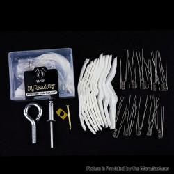 Authentic VAPJOY DIY Rebuild Kit for SMOK RPM80/ RPM80 Pro - Opening Tool Kit + Cottons + RPM-Triple Ni80 Triple Coils (0.6ohm)