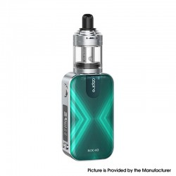 Authentic Aspire Rover 2 NX40 40W 2200mAh VV VW Box Mod Starter Kit w/ Nautilus XS Tank - Turquoise, 2ml, 0.7ohm / 1.8ohm, 1~40W