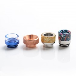 Replacement 810 Drip Tip for Goon Kennedy / Battle / Reload RDA - Color Random, Material Random (with SS / Metal), Shape Random