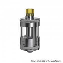 Authentic Aspire Nautilus GT MTL Sub Ohm Tank Vape Atomizer - SS, Stainless Steel + Pyrex Glass, 3ml, 0.7 /1.6ohm, 24mm Diameter