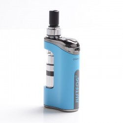 Authentic Justfog Compact 14 12W 1500mAh Starter Kit - Blue, 1.8ml, 1.6 Ohm / 1.2 Ohm