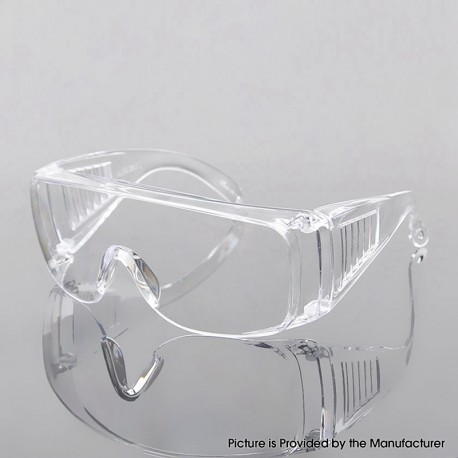 Uncoated Protective Goggle Glasses for Anti-Impact / Anti Chemical Splash / Anti-Fog /Anti-Bacteria/Virus/COVID-19 - Transparent