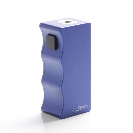 Authentic Dovpo X Signature Tips X Mike Vapes Clutch 21700 Mech Mechanical Vape Box Mod - Blue, 1 x 21700