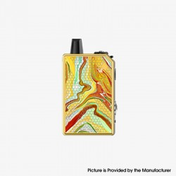 Authentic Teslacigs Invader GT 50W 1200mAh VW Box Mod Pod System Vape Starter Kit - Fire Phoenix, Aluminum Alloy, 3ml, 7~50W