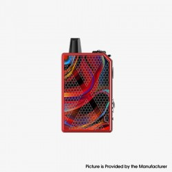 Authentic Teslacigs Invader GT 50W 1200mAh VW Box Mod Pod System Vape Starter Kit - Sea of Desire, Aluminum Alloy, 3ml, 7~50W