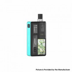 Authentic Smoant Knight 80 80W TC VW Mod RBA Pod System Vape Starter Kit - Tiffany Blue, 1~80W, 100~300'C / 200~600'F, 1 x 18650