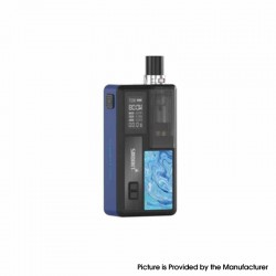 Authentic Smoant Knight 80 80W TC VW Mod RBA Pod System Vape Starter Kit - Bronze Blue, 1~80W, 100~300'C / 200~600'F, 1 x 18650