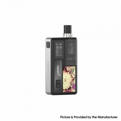 Authentic Smoant Knight 80 80W TC VW Box Mod RBA Pod System Vape Starter Kit - SS, 1~80W, 100~300'C / 200~600'F, 1 x 18650