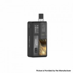 Authentic Smoant Knight 80 80W TC VW Box Mod RBA Pod System Vape Starter Kit - Black, 1~80W, 100~300'C / 200~600'F, 1 x 18650