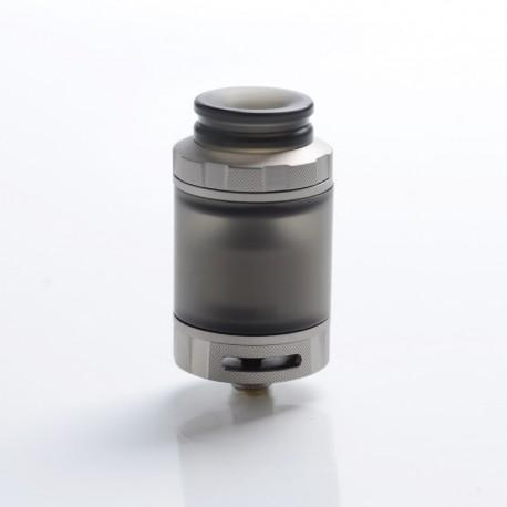 Authentic Hellvape Destiny RTA Rebuildable Tank Atomizer - Matte Stainless Steel + PCTG, 4ml, 24mm Diameter