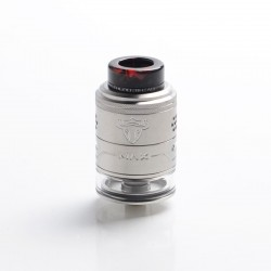 Authentic ThunderHead Creations THC Tauren Max RDTA Rebuildable Dripping Tank Vape Atomizer - SS, 2ml / 4.5ml, 25mm Diameter