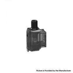 Authentic Augvape Narada Pro VW Mod Vape Kit Replacement Empty Pod Cartridge w/ Airflow Adaptor - Black, PCTG, 3.7ml