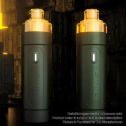Authentic Asvape Hita 30W 1000mAh Mech Mod RBA Pod System Vape Starter Kit - Dark Green, 3ml, 0.5ohm / 1.0ohm, 5~30W