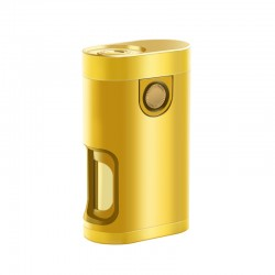 Vapeasy Armor Mech V2 Style BF Bottom Feeder Squonk Mechanical Box Vape Mod - Gold, Pure Gold, 1 x 18650