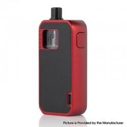 Authentic Augvape Druga Narada 1100mAh Box Mod Pod System Vape Starter Kit - Black Leather, Zinc Alloy, 2.8ml, 0.5ohm / 0.6ohm
