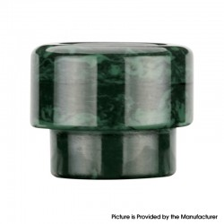 Authentic Reewape AS303 Replacement 810 Drip Tip for 528 Goon / Reload /Kennedy /Wotofo Profile /Battle RDA - Green, Resin, 13mm