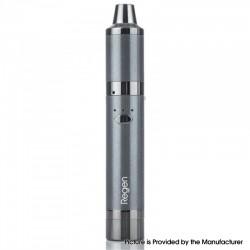 Authentic Yocan Regen 25W 1100mAh Wax Vaporizer Vape Pen Starter Kit w/ QTC & QDC Coils - Gray