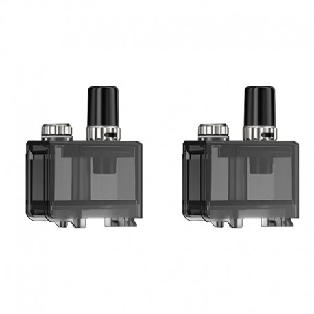 Authentic Lost Vape Q Ultra Pod System Kit Replacement Empty Pod Cartridge - 4ml, (2 PCS)