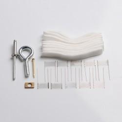 Authentic VAPJOY DIY Rebuild Kit for SMOK RPM80/ RPM80 Pro - Opening Tool Kit + Cottons + RPM-VM1 Ni80 Mesh Coils (0.4ohm)