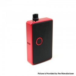 SXK BB Style 60W All-in-One Box Mod Kit w/ USB Port - Red, Aluminum Alloy, 1 x 18650, Evolv DNA 60, Without Logo