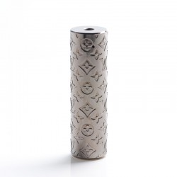 Rogue Style Hybrid Vape Mechanical Mod - Gun Metal, Brass, 1 x 18650