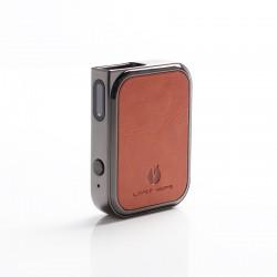 Authentic Lost Vape Prana 12W 500mAh Pod System Vape Starter Kit - Brown Leather, Zinc Alloy, 1.0ml, 1.0ohm