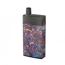 [Ships from Battery Warehouse] Authentic Ultroner Theia 30W VW Pod System Vape Kit - Purple, 5~30W, 2.0ml, 0.6 / 1.2ohm