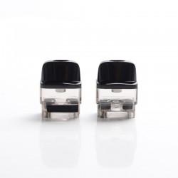 Authentic Voopoo VINCI AIR Pod System Vape Kit Replacement Empty Cartridge w/o Coils - Translucent Tea, PCTG, 4ml (2 PCS)