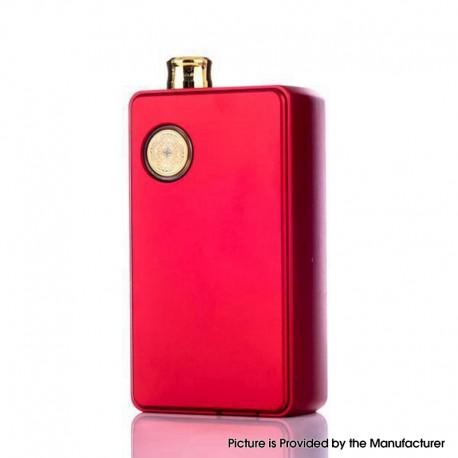 Authentic dotMod dotAIO 35W Ultra MTL / DTL Portable AIO Pod System Vape Starter Kit - Red, 0.3ohm / 1.6ohm, 2.0ml, 1 x 18650