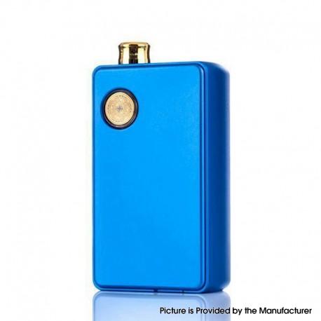 Authentic dotMod dotAIO 35W Ultra MTL / DTL Portable AIO Pod System Vape Starter Kit - Royal Blue, 0.3 /1.6ohm, 2.0ml, 1 x 18650