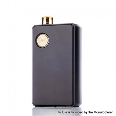 Authentic dotMod dotAIO 35W Ultra MTL / DTL Portable AIO Pod System Vape Starter Kit - Black, 0.3ohm / 1.6ohm, 2.0ml, 1 x 18650