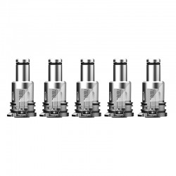 Authentic Augvape Narada Pro VW Mod Vape Kit / Cartridge Replacement MTL Coil Head - Silver, 1.0ohm (5 PCS)