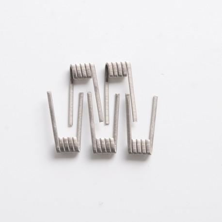 Authentic Vandy Vape Mato RDTA Vape Atomizer Replacement Triple Fused Clapton Coil - Ni80, 0.26ohm, 26GA x 3 + 36GA (5 PCS)