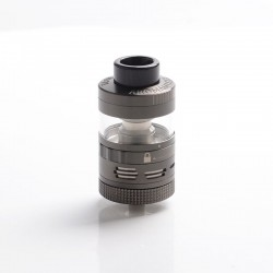 Authentic Steam Crave Aromamizer Plus V2 DL RDTA Rebuildable Dripping Tank Vape Atomizer Advanced Kit - Gun Metal, 30mm Diameter