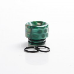 Authentic Reewape AS306 Replacement 810 Drip Tip for SMOK TFV8 / TFV12 Tank / Kennedy / Battle / Reload RDA - Green, Resin, 15mm