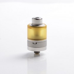 SXK Avat Style MTL / DL RTA Rebuildable Tank Vape Atomizer - Silver, 316 Stainless Steel + PEI, 3.4ml, 22mm Diameter