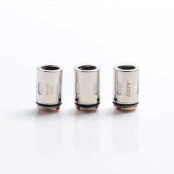Authentic IJOY Jupiter Pod System Vape Kit / Cartridge Replacement Mesh-J1 Coil Head - Silver, 0.2ohm (40~60W) (3 PCS)
